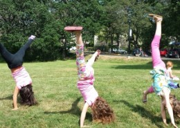 Cartwheels in the sun